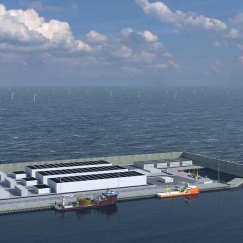 Denmark presses ahead with £25bn artificial wind energy island