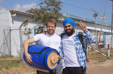 engineering careers  Washing machine project – scheme expands to help refugees in more countries