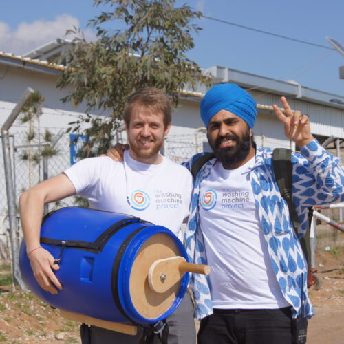 Washing machine project - scheme expands to help refugees in more countries